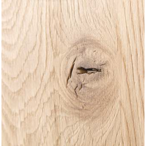 Massief houten werkblad  boomkant eik rustiek Plus 40 mm