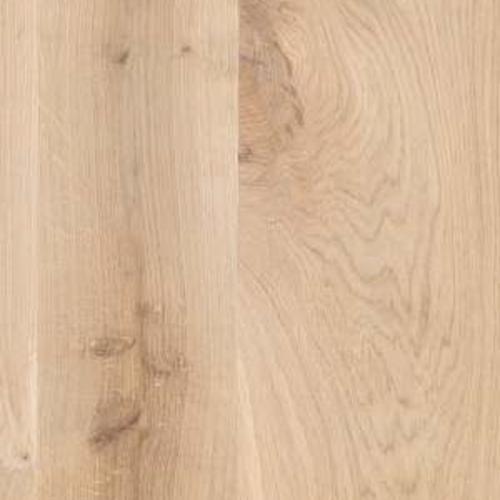 Massief houten werkblad eik rustiek C ovaal NL 40 mm
