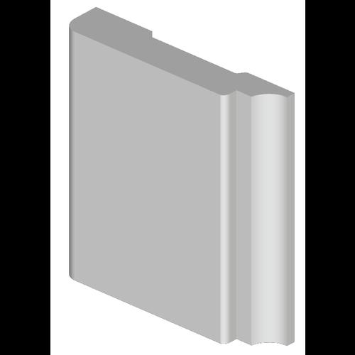 Deurlijstset type 1 MDF Vochtwerend 7 cm