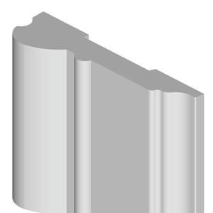 Deurlijst Type 4 Meranti