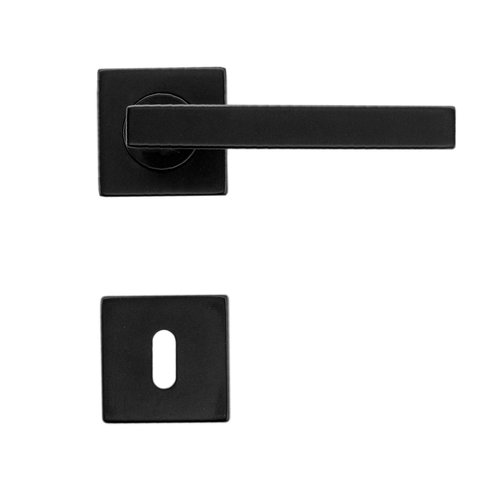 HDD Deurkruk Kubic Shape 16 mm Zwart  R+E