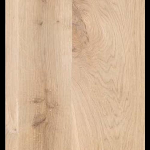 Massief houten werkblad  eik rustiek C rechte kant 40 mm