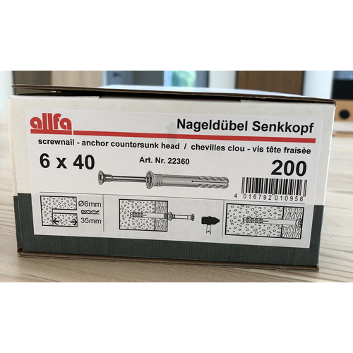 Allfa Allfa Hamerplug