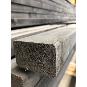 SLS geschaafd zwart 38 x 89 x 4500 mm