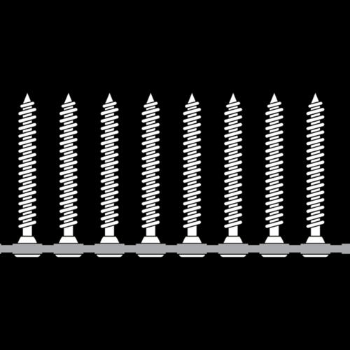 Bandschroeven 3,5 x 25 mm - 1000 stuks per doos