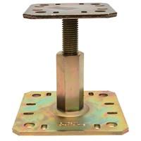Verstelbare kolomvoet 100 x 130 mm Kit Fix