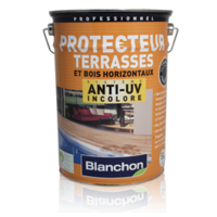 Kleurloze anti-UV Protector terrassen