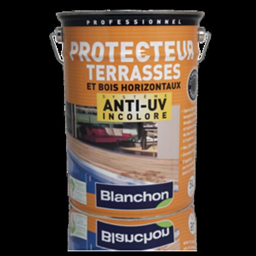 Blanchon Kleurloze anti-UV Protector terrassen