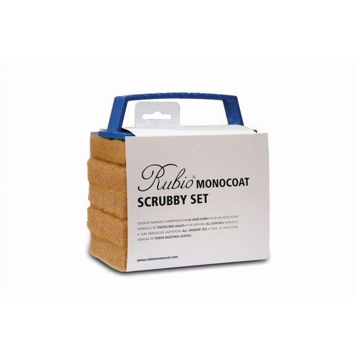 Rubio Monocoat Scrubby set beige
