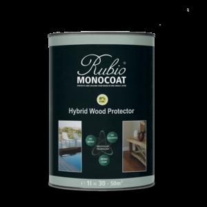 Rubio Monocoat Hybrid Wood Protector BLACK- 1 L