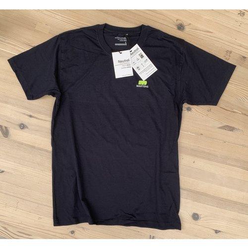 """T-shirt """"I LOVE HOUT"""" Navy Blue Organic Fairtrade"""