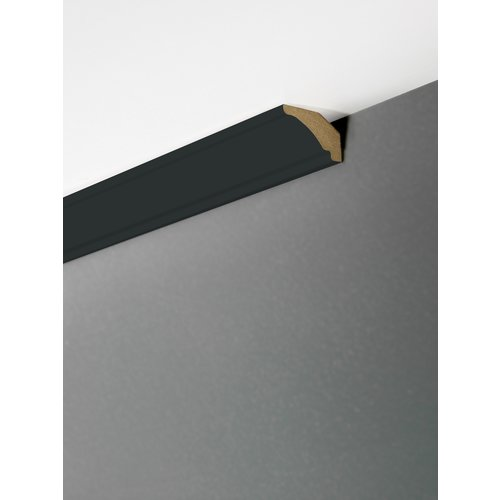 Maestro Design Plafondlijst Matte Black Eclectic EC133  22 x 35 x 2700 mm