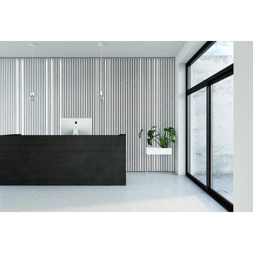Maestro Panel Lynes alu montagerail 5 x 15 x 2700 mm