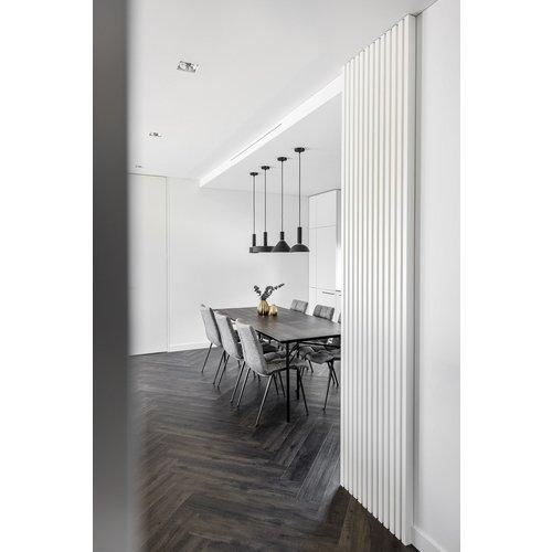 Maestro Design Lynes zwart  alu afwerkingsprofiel 26 x 50 x 2700 mm