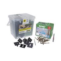 Kit Hardwoodclip Mini