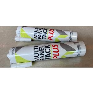 Multipanel Witte Siliconenkit en Paneellijm Tack Plus 290 ml