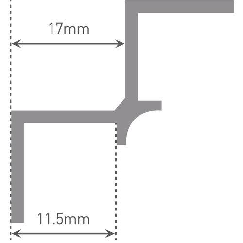 Multipanel Binnenhoekprofiel EMPIA