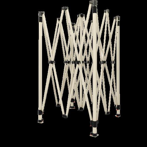 Grizzly Outdoor GO-WORK -  frame van gemoffeld staal met smalle voet