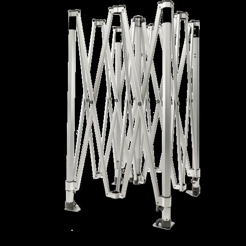 Grizzly Outdoor GO-WORK 50 -  aluminium frame met brede voet