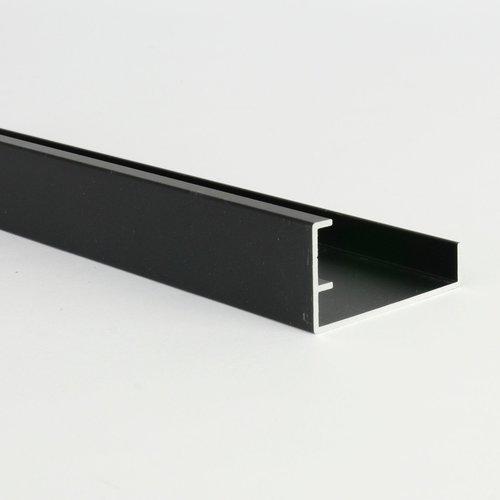 Maestro Design Lynes zwart alu afwerkingsprofiel