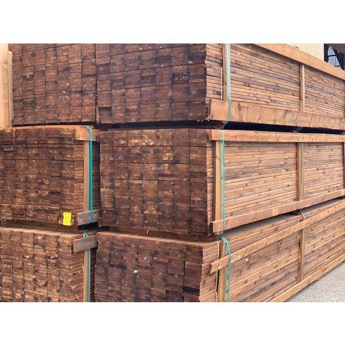Terrasplank Geïmpregneerd PEFC Grenen 27 x 145 mm (per meter)