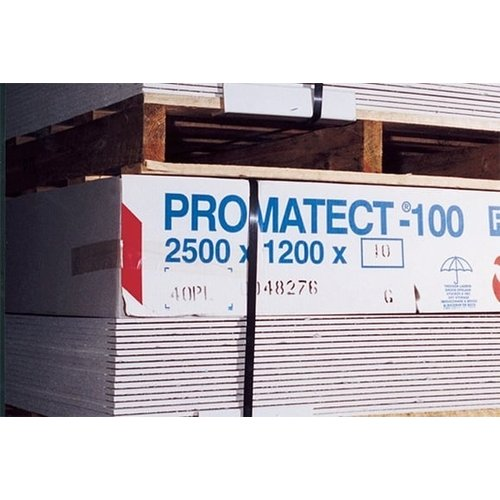 Promat - Etex Building Solutions Promatect 100 - 2500 x 1200 mm