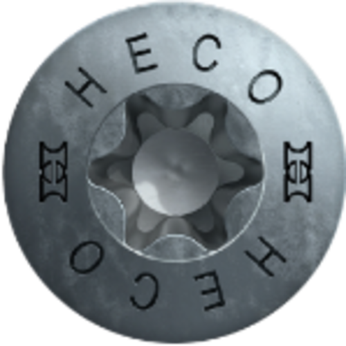 Heco HECO-TOPIX-plus  4,5 x 60 mm HD VD 200 stuks/doos