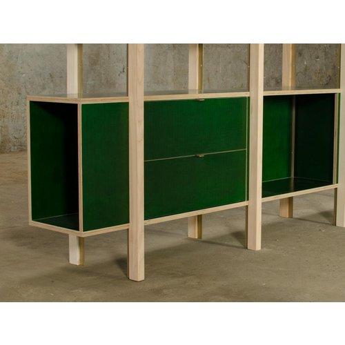 Betonplex 18 mm 2.50 x 1.25 groene film