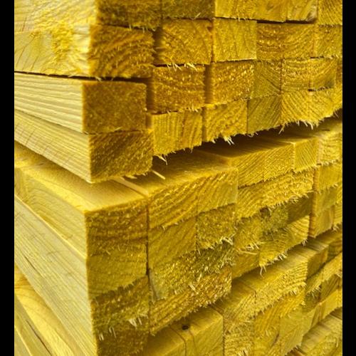 Tengellat 19 x 32 mm geel gedrenkt - 15 stuks per pak