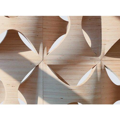 Pollmeier Baubuche  Panel Massief PEFC 3600 x 640 x 35 mm