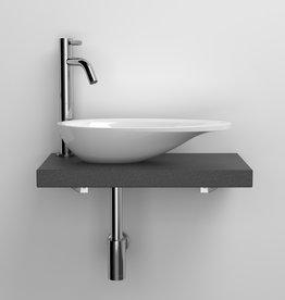 First shelf for handbasin - outlet