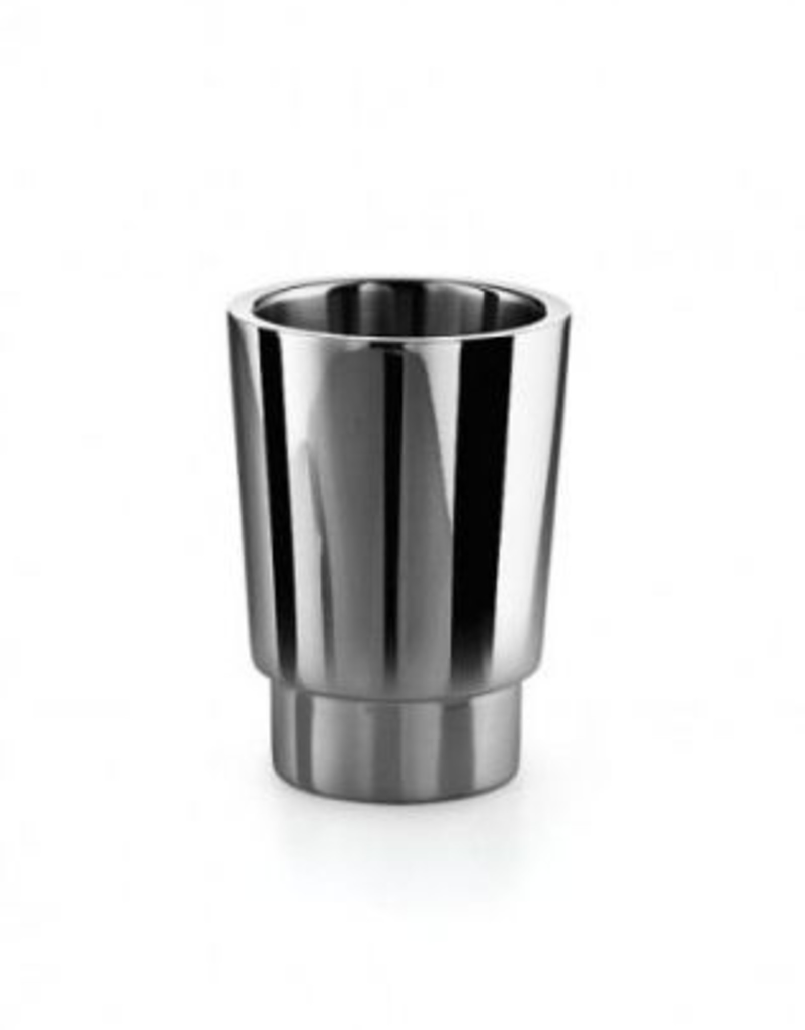 Napie Napie cup for wall holder, polished stainless steel