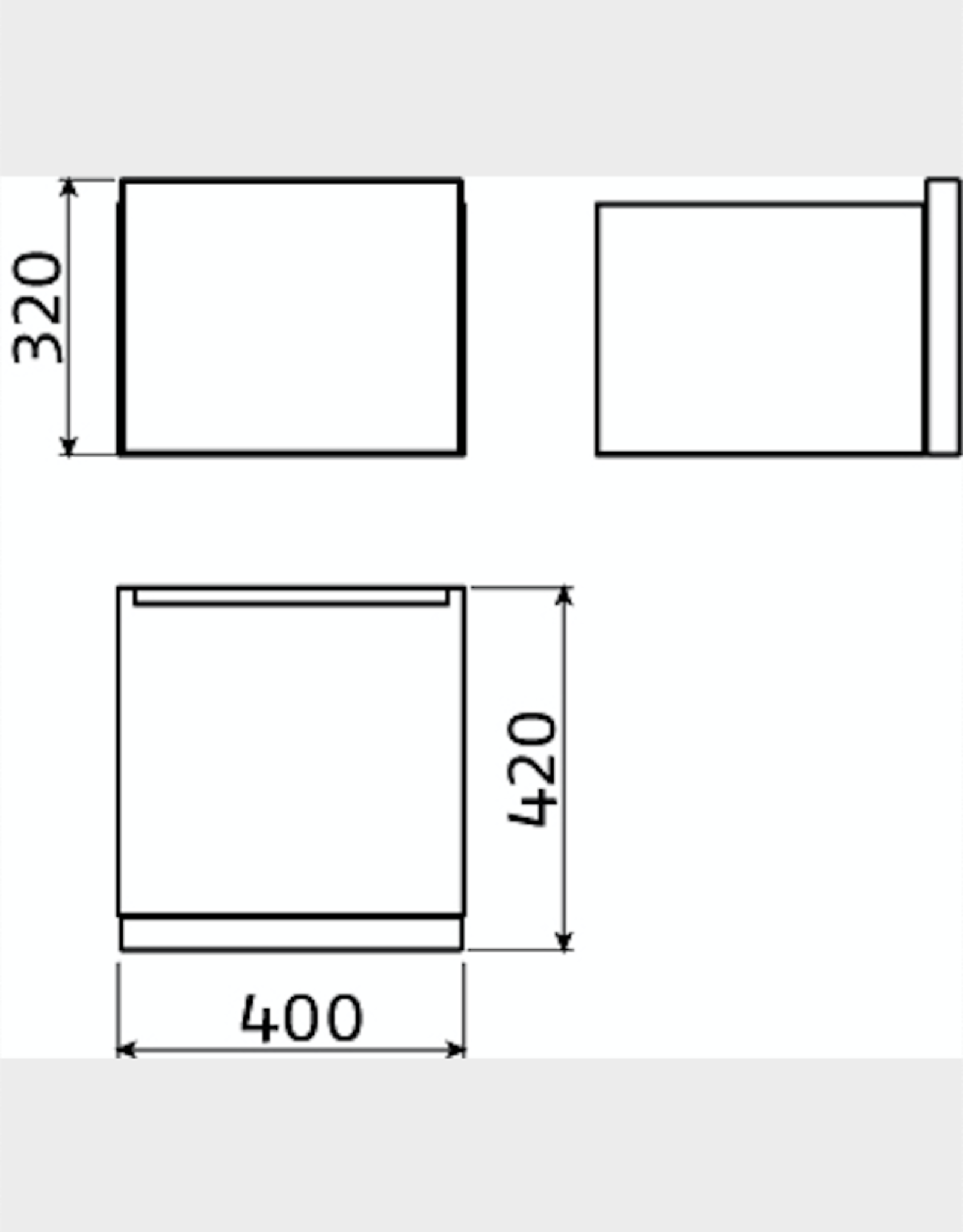 Match Me dresser 40 cm - outlet
