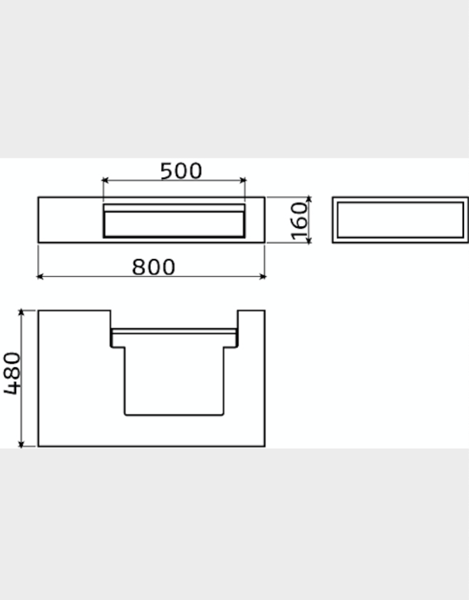 Wash Me dresser 80 cm - outlet