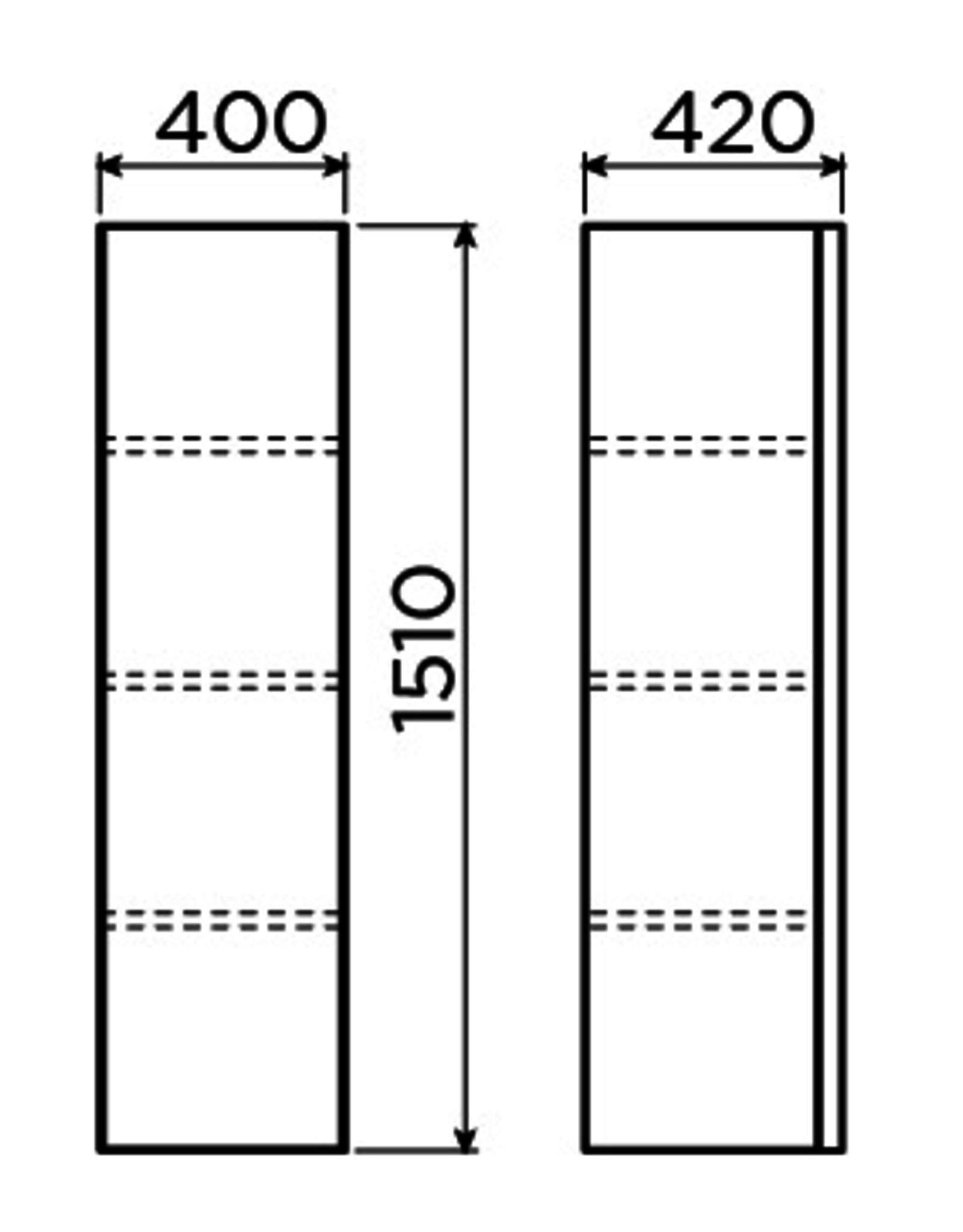 Match Me kolomkast 151 cm - uitverkoop
