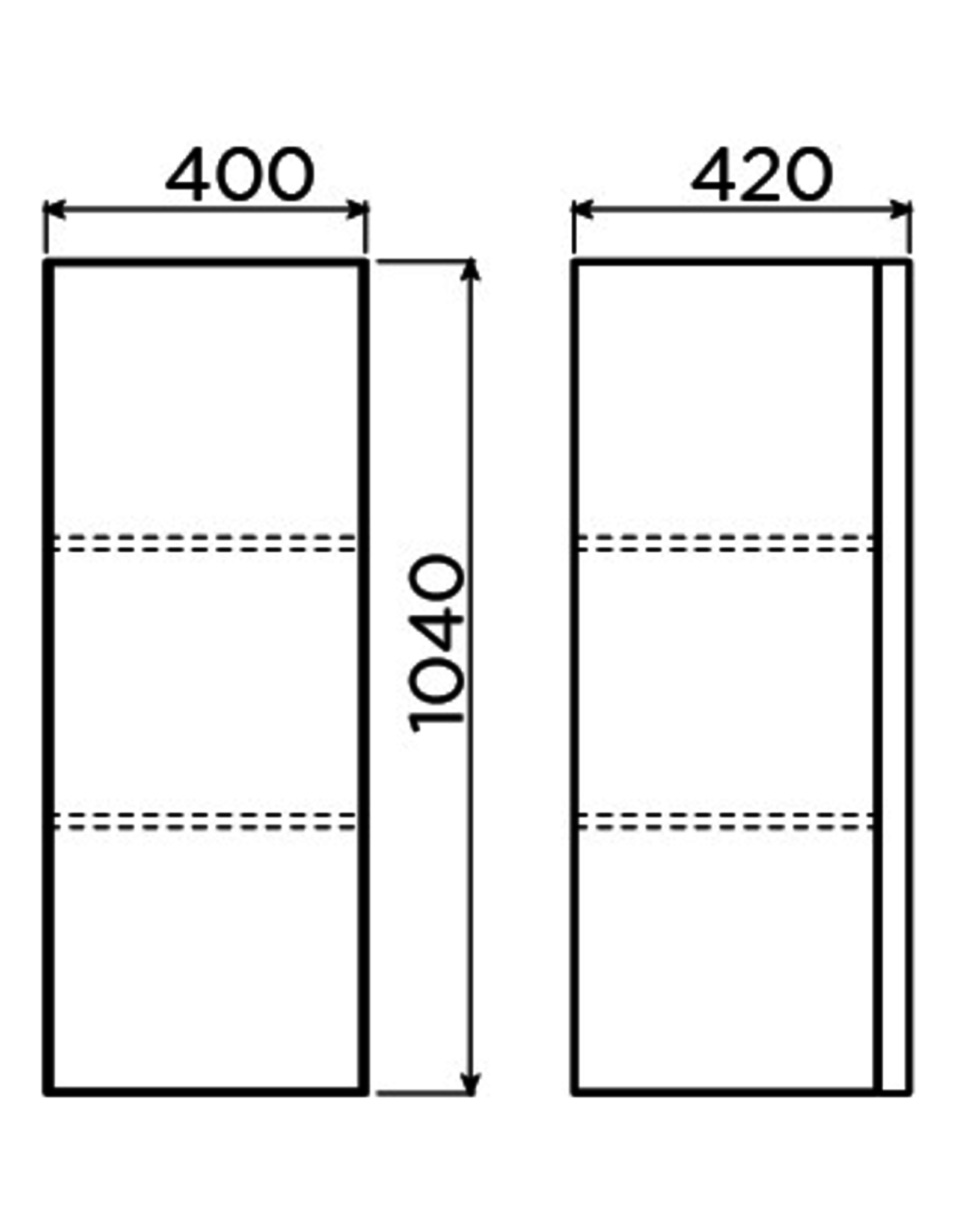 Match Me armoire colonne 104 cm - vente