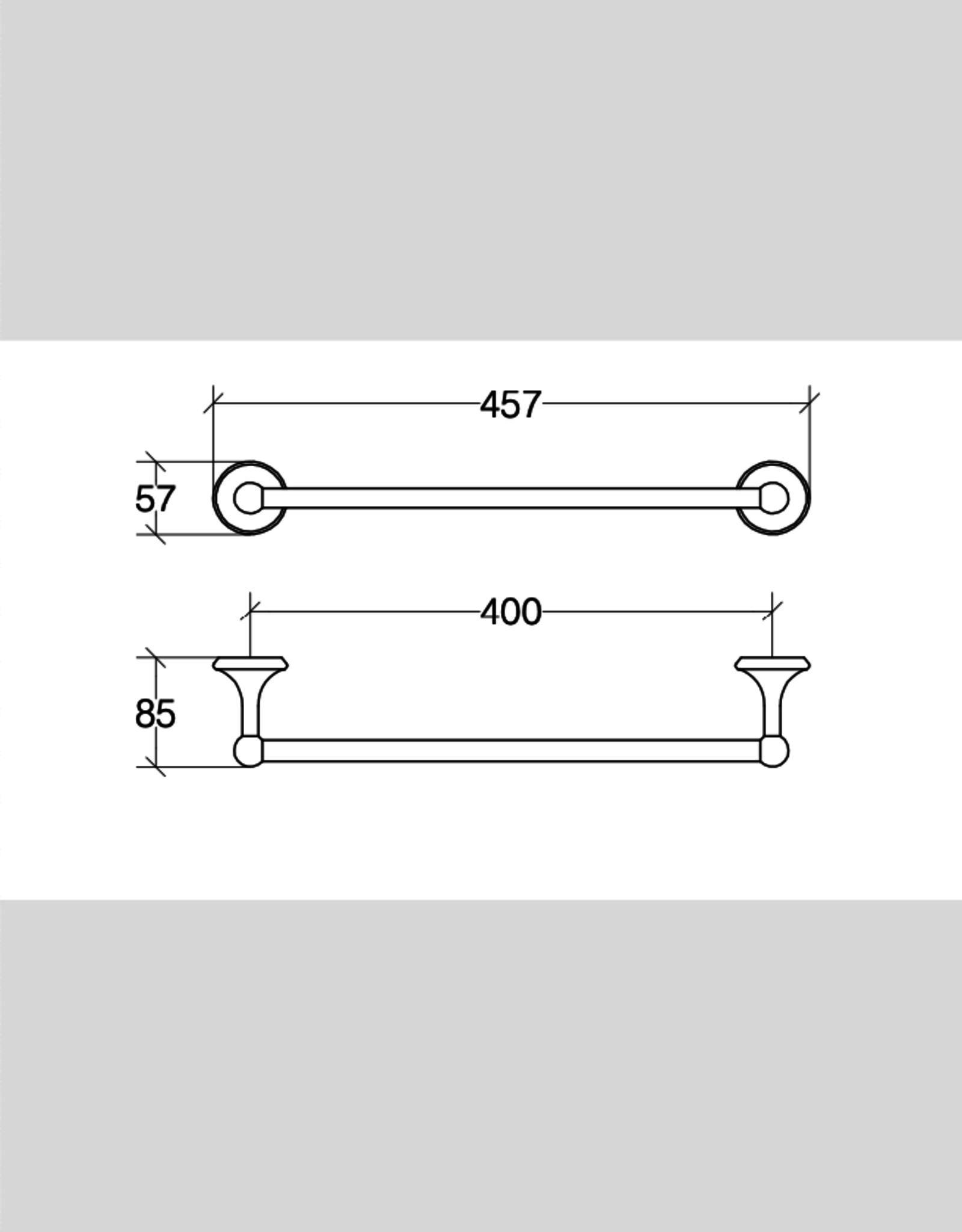 Venessia towel rail