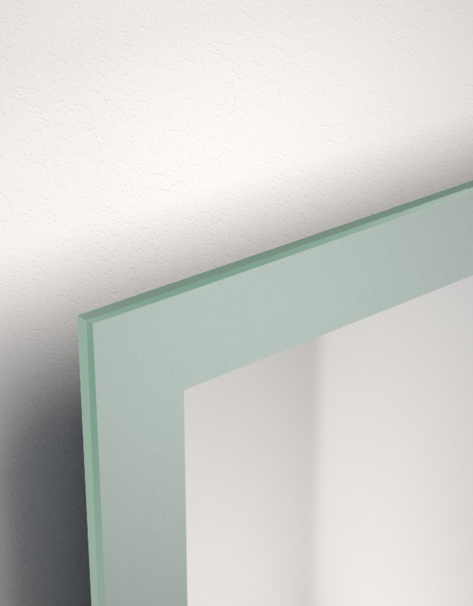 Look at Me mirror with satin border - outlet