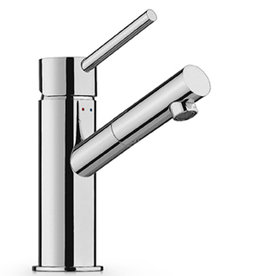 Linea washbasin mixer with short spout - outlet