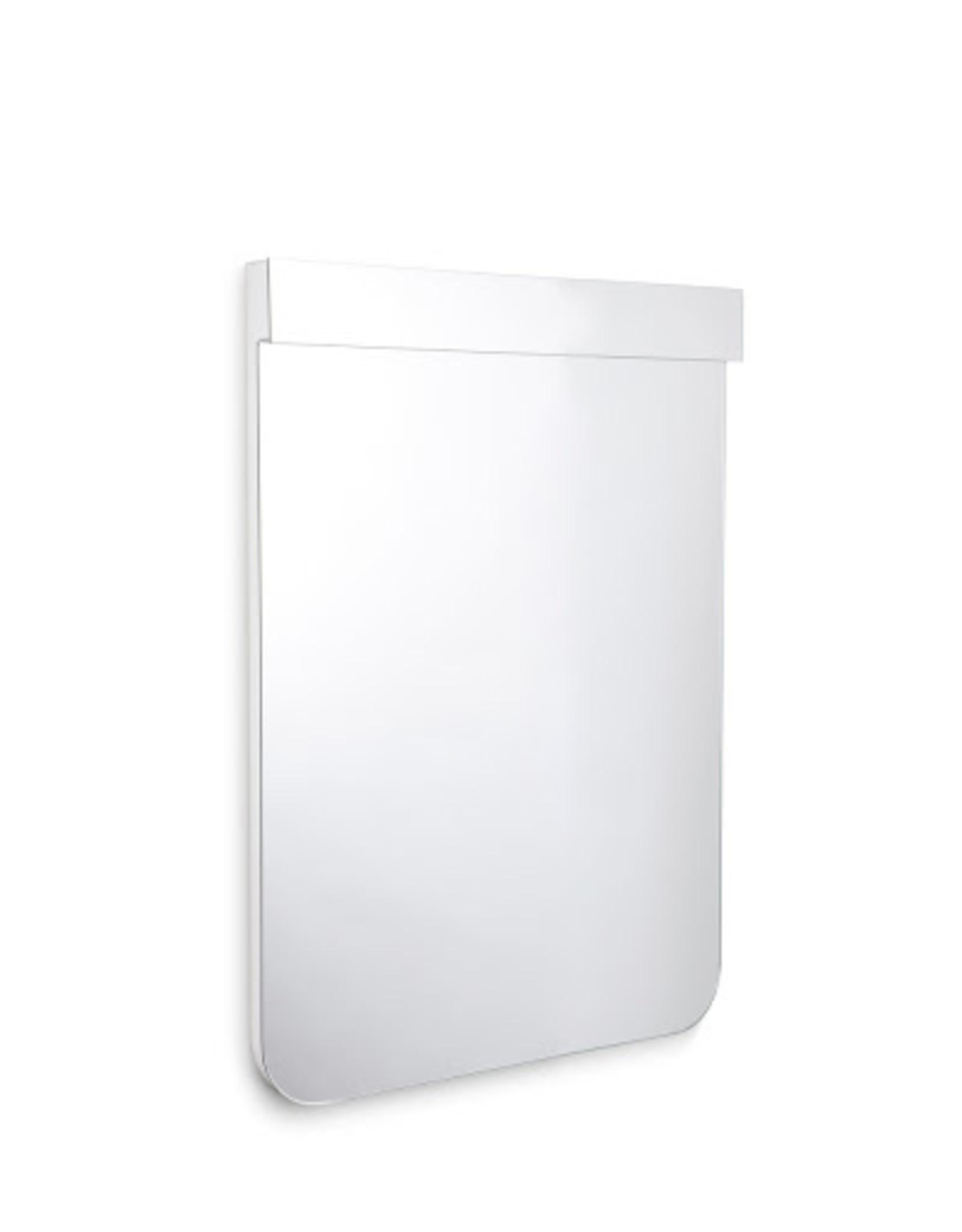 Scalin spiegel met wit frame 90cm - uitverkoop