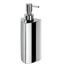Saon liquid soap dispenser, triangle, freestanding - outlet