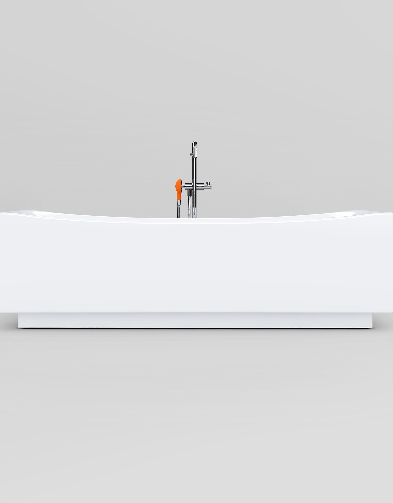 Hammock freestanding bathtub- outlet/product used at a fair