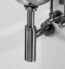 HighTech Pollux siphon model 2, chrome - outlet