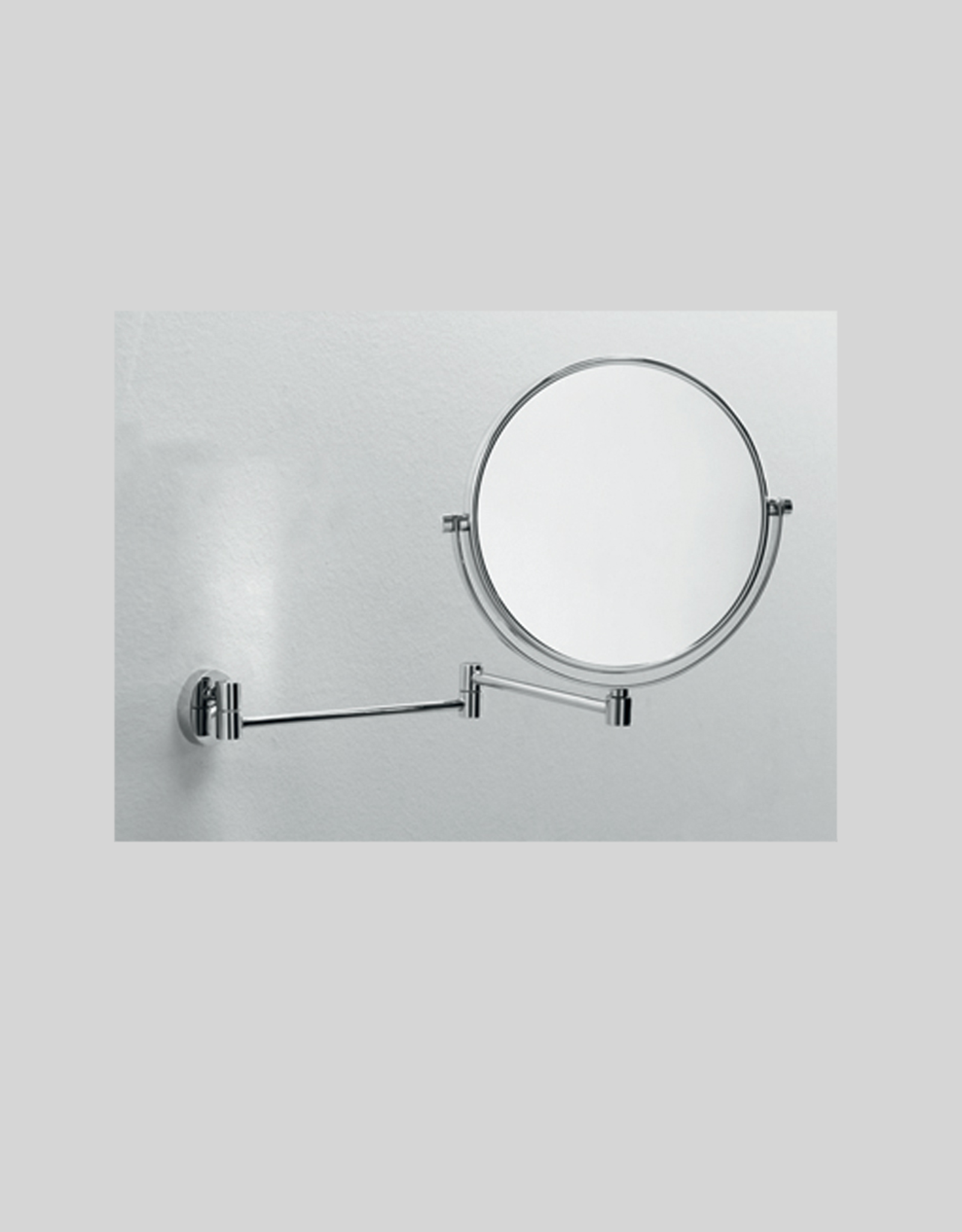 Mevedo magnifying mirror (3x) with flexible wall arm - outlet