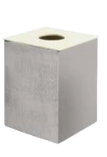 Sesti panier à linge aluminium 30cm - vente