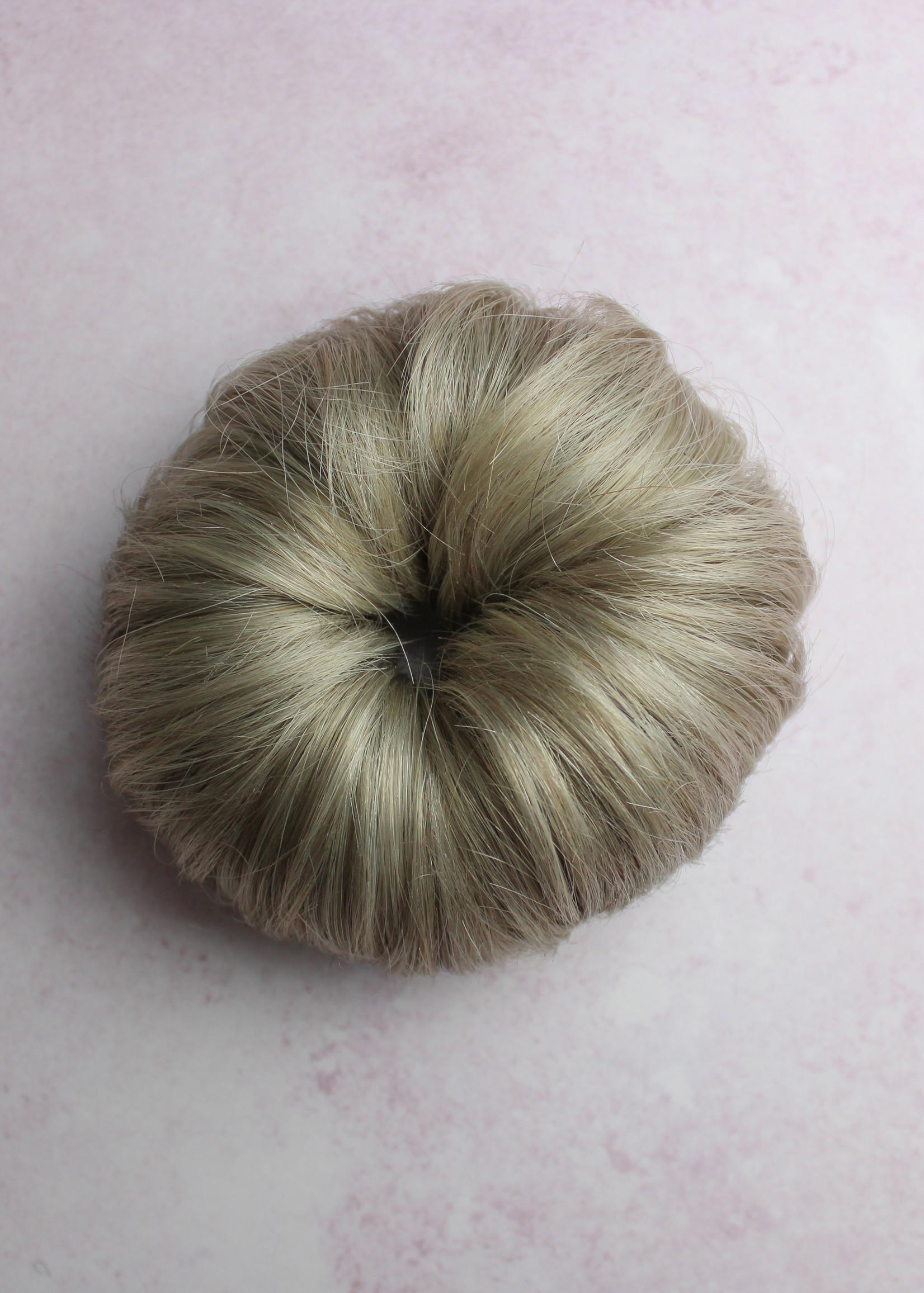 Human Hair Buns - Color Grey