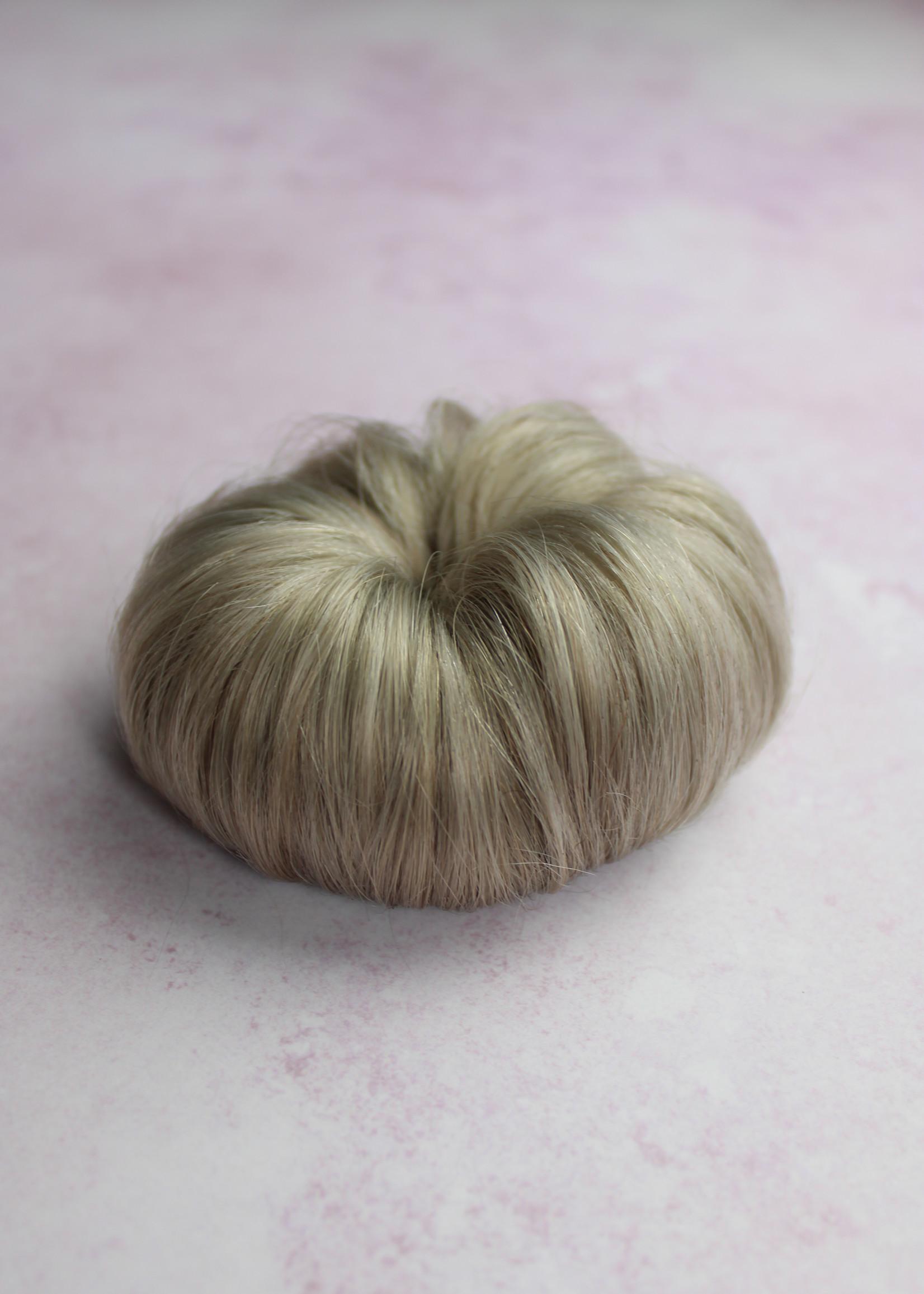 Human Hair Buns - Kleur Grey