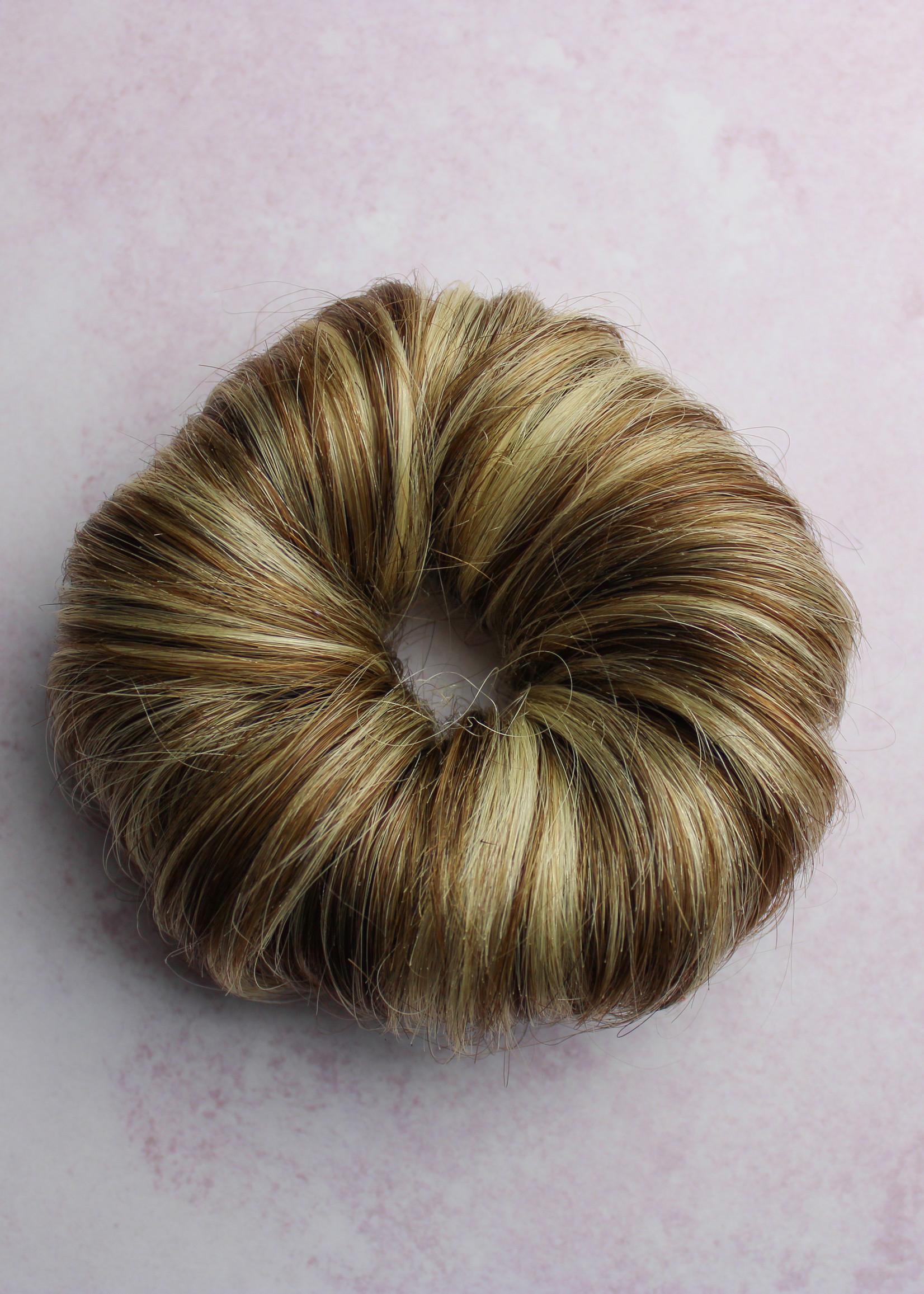 Human Hair Buns - Color 4/613