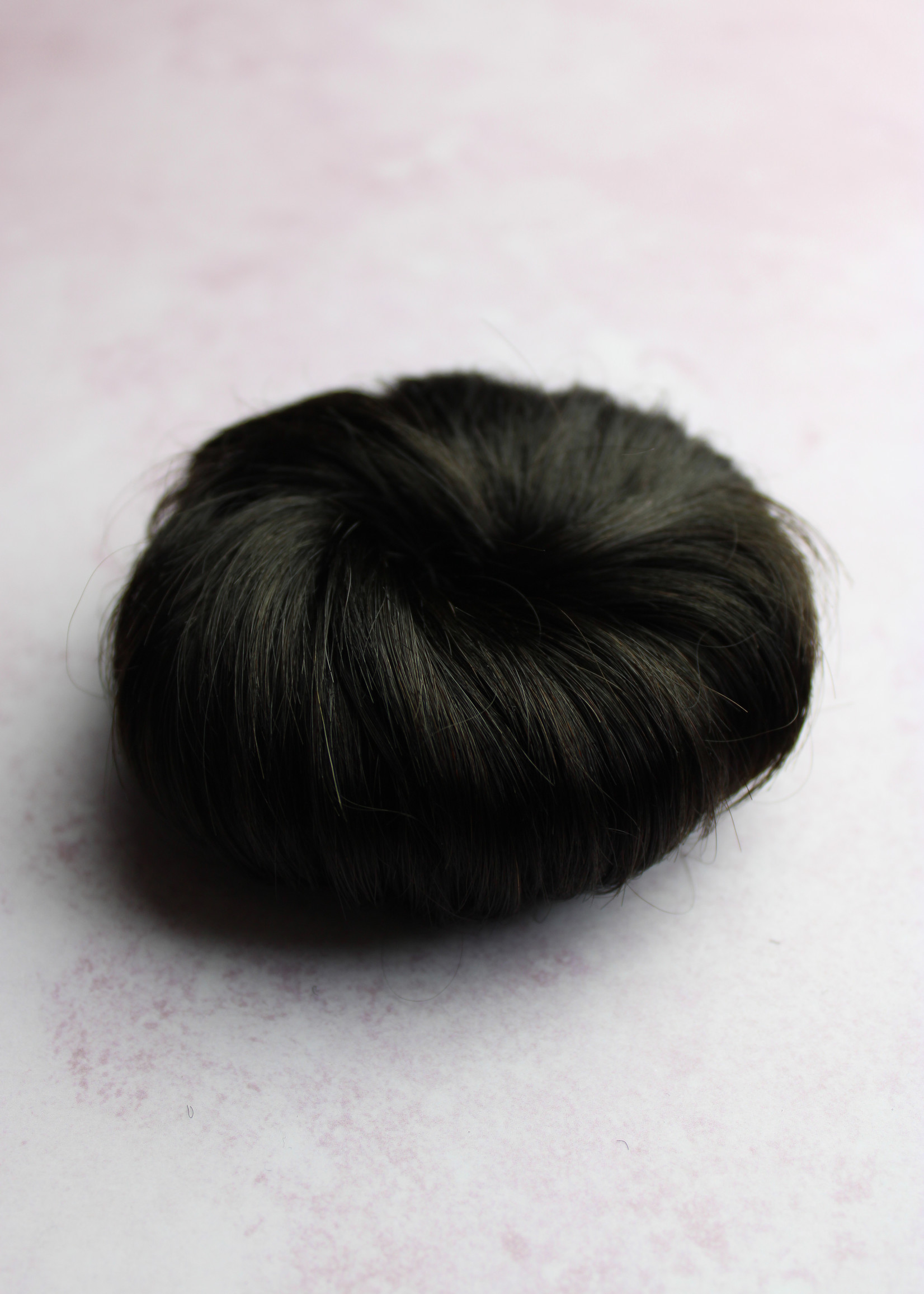 Human Hair Buns - Color 1B