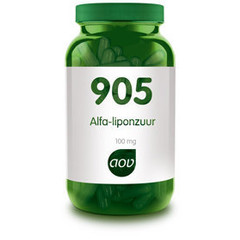 Aov Alfa-Liponzuur 905 (60Cap) DAV6003